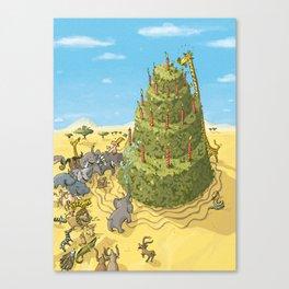 Desert Tart Canvas Print