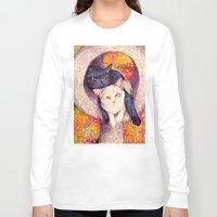zelda Long Sleeve T-shirts featuring nick & zelda by Beth Jorgensen