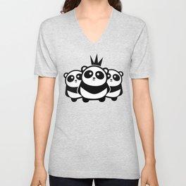 Panda Gang Unisex V-Neck