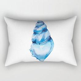 Azure seashell Rectangular Pillow