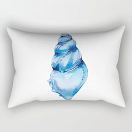Azure seashell Rectangular Pillow