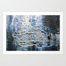 Oil Slick Art Print