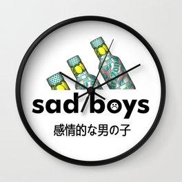 Sad Boys Arizona Wall Clock