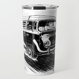 at full speed Travel Mug