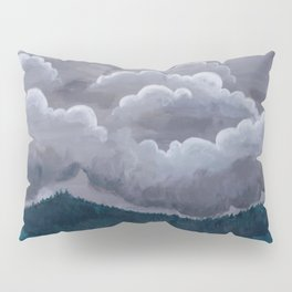 Mountain Rain Pillow Sham