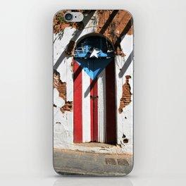 Puerto Rico Flag iPhone Skin