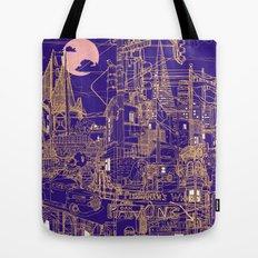 San Francisco! (Night) Tote Bag