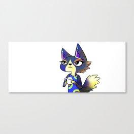 Animal Crossing Wolfgang Canvas Print
