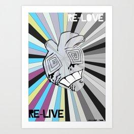 re-love Art Print