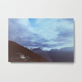 the house on the peak Metal Print