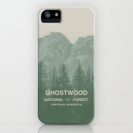 Ghostwood National Forest Twin Peaks iPhone Case
