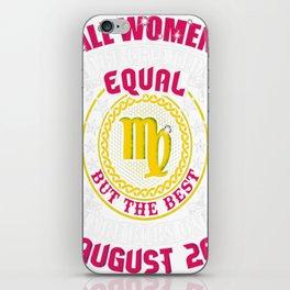 Best-Women-Born-On-August-26-Virgo---Sao-chép iPhone Skin