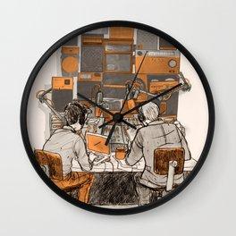 Radio Lab Wall Clock