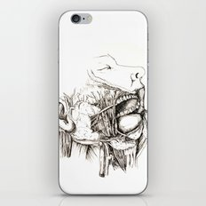Anatomy: Study 1 Salivating Zombie iPhone & iPod Skin