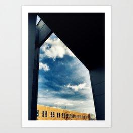 Contemporary building Art Print
