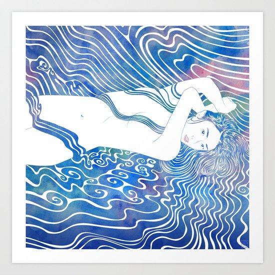 Water Nymph LXXXIII Art Print