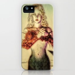 The Lonely Mermaid iPhone Case