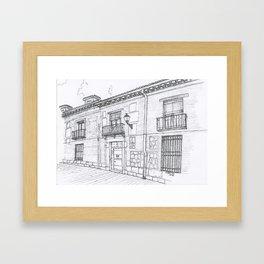 Alcalá Street Framed Art Print