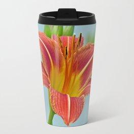 Tiger Daylily Travel Mug