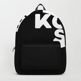 Bukowski Black Backpack