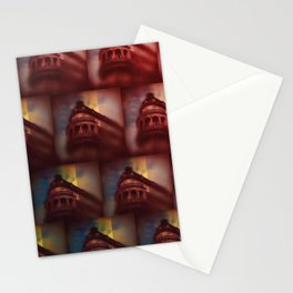 Shapes of the Old City - Oporto Stationery Cards
