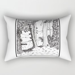 Day Four - Lake Tahoe Rectangular Pillow