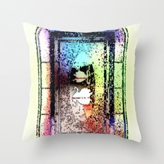 Window, Encinitas, California #2 Throw Pillow