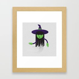 Wicked Witch / Ghost Framed Art Print