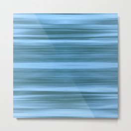 Abstraction Serenity in Ocean Metal Print