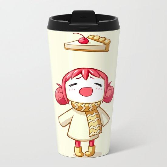 Cherry Pie Metal Travel Mug