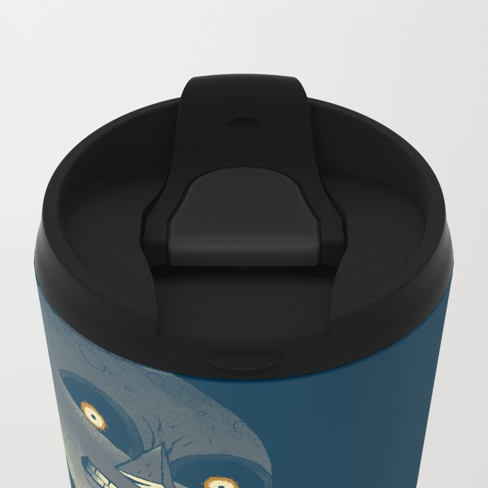how to defeat the moon Metal Travel Mug