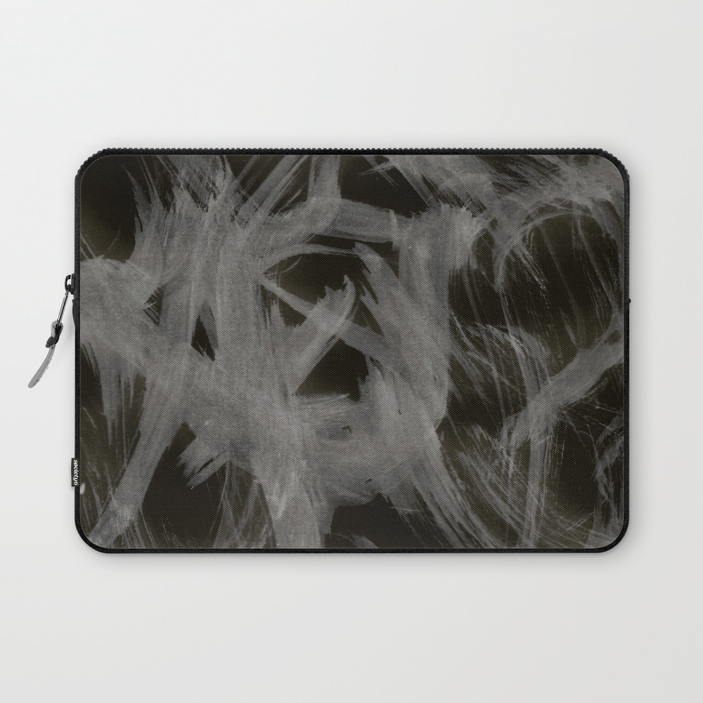 Ghost, Abstract, Black & White Laptop Sleeve LSV8906390