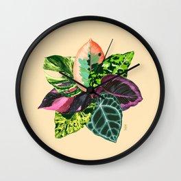 PEOPLE'S PLANTS Wall Clock