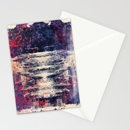 disquiet eight (sine) Stationery Cards