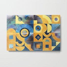 Geometric XXXXXVII Metal Print