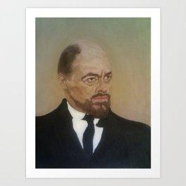Michael Bryant As Lenin Art Print