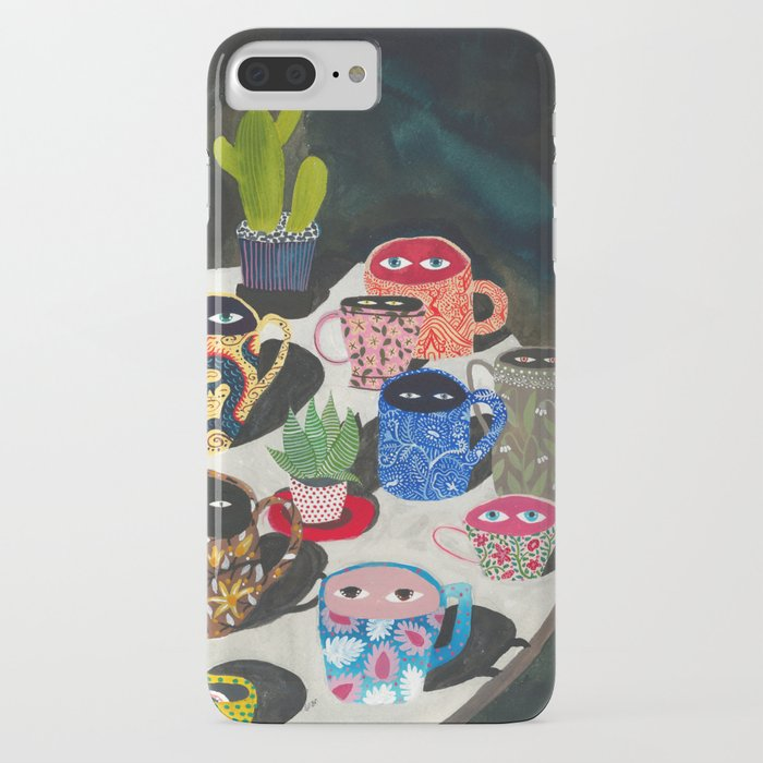suspicious mugs iphone case