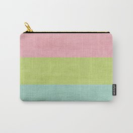 three stripes -  sherbert Carry-All Pouch
