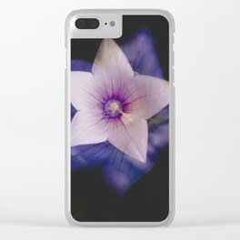 Two flowers in one Clear iPhone Case