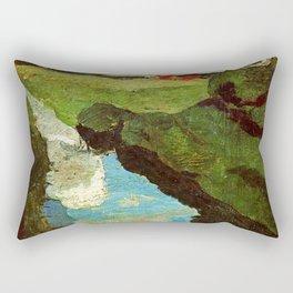 Landscape - Paula Modersohn-Becker Rectangular Pillow