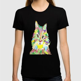 Colorful Kitty T-shirt