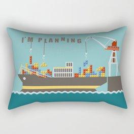 Planner Rectangular Pillow