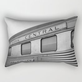 New York Central B&W Rectangular Pillow