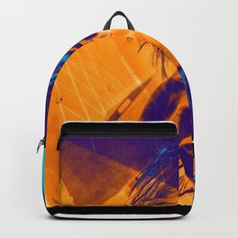 music poster, guitar print  Backpack