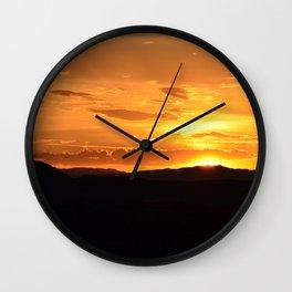 Southwest Sunrise - II Wall Clock