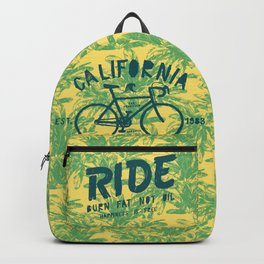 California Bicycle Ride Backpack