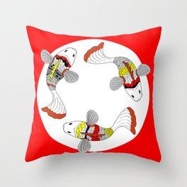Koi / Japanese fish  Throw Pillow