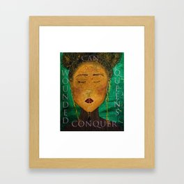 Wounded Queens Conquer Framed Art Print