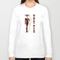 harley quinn Long Sleeve T-shirts featuring Harley Quinn by Lily's Factory