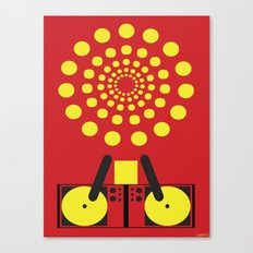 SUNSHINE DJ  Canvas Print